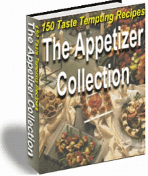 Product picture 150 Appetizer Recipes eBook + Mrr Resale Rights