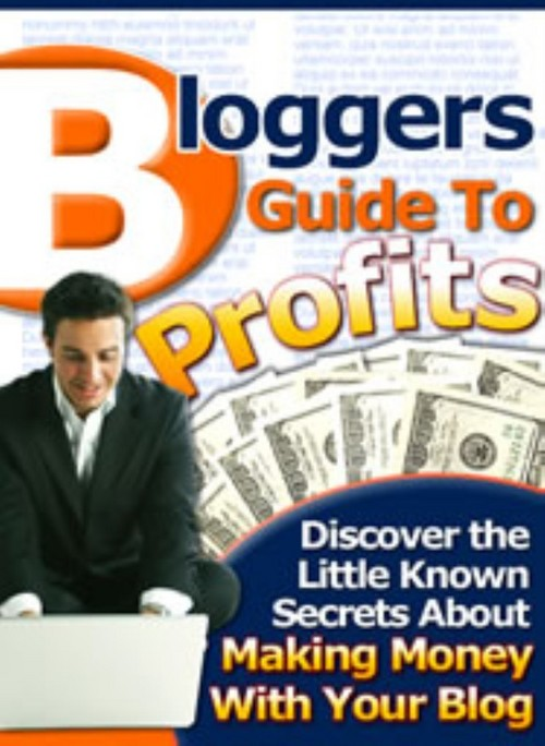 Product picture Bloggers Guide To Profits | PDF eBook | + Mrr | Only $1.49