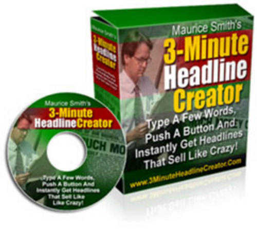 Product picture 3 Minute Headline Creator | eBook | + Mrr | Only $1.39