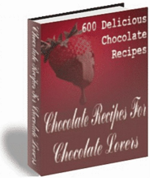 Product picture 600 Recipes For Chocolate Lovers | eBook | + Mrr | Only 98¢