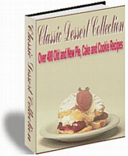 Product picture 400+ Dessert Recipes Pie Cake Cookies eBook | +Mrr |Only 75¢