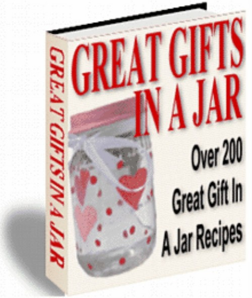 Product picture 200 + Great Gifts In A Jar - eBook - Plus Mrr
