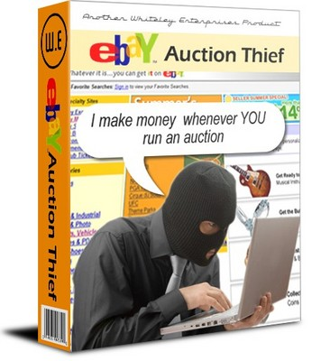 Product picture Ebay Auction Thief  | PDF eBook  |  Plus  Resell  |   $1.49