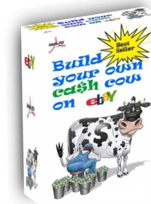 Product picture Ebay Cash Cow eBook | Version 5.2  | Plus 2 bonusus & Master Resell Rights |$1.25