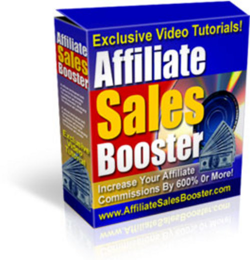 Product picture Affiliate Sales Booster With Exclisive Videos | Tutorials | PDF eBook | Master Resell Rights | Only 89¢
